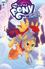 Legends of Magic issue 4 sub cover