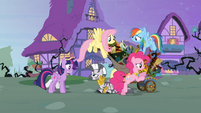 Main six gather around Zecora S4E1