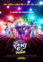 My Little Pony La Película póster oficial latino