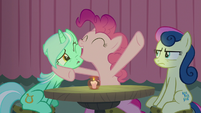 "Pinkie Pie ""it's funny 'cause it's true!"" S8E3"