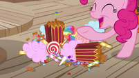 "Pinkie Pie ""lots of other super-yummy stuff!"" S6E22"