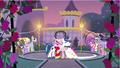 Princess Cadance & Shining Armor start dance S2E26.png