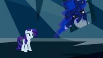 Princess Luna flies after the Tantabus S5E13