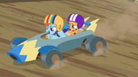 Rainbow --speed is king, end of story-- S6E14