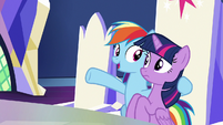 "Rainbow Dash ""it was all just training"" S9E1"