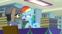 "Rainbow Dash ""make Daring Do look bad!"" S9E21"
