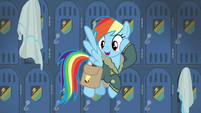 "Rainbow Dash ""see you gals later!"" S6E24"