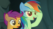 "Rainbow Dash ""you can out-think them"" S7E16"
