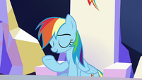 Rainbow Dash --you were pretty awful-- S6E25