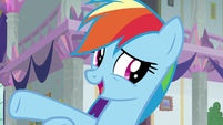 Rainbow Dash -doing a loyalty lesson- S8E1