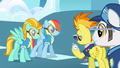 Rainbow Dash we're here S3E7.png