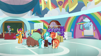 Rainbow leaves the classroom again S9E15