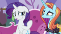 """Rarity """"between running three stores"""" S7E6.png"""