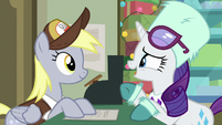 "Rarity ""it's a gift for Applejack"" MLPBGE"