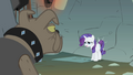 Rarity being moved to a wall behind her S1E19.png