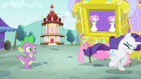 Rarity running away S4E23