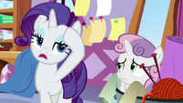 Rarity sighing with exasperation S8E12