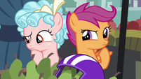 Scootaloo and Cozy Glow thinking S8E12