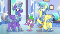 Spike --I'm not joking!-- S6E16