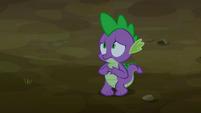 Spike nervous S2E21