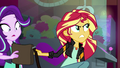 Sunset Shimmer giving her bag to Starlight Glimmer EGS3.png