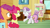 "Sweetie Belle ""none of us asked anypony"" S9E22"