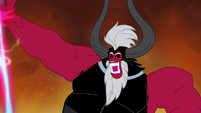 Tirek pushes Twilight's magic beam away S4E26