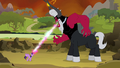 Tirek sucking away all the alicorn magic from Twilight S4E26.png