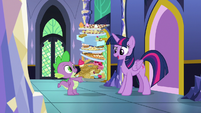 "Twilight ""leave the castle so early"" S8E24"