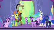 "Twilight Sparkle ""they set the changelings free"" S7E1"