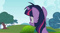 Twilight Sparkle hearing something S2E03