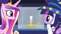 Twilight hablando con Cadance 2