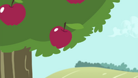 An apple about to fall S4E13