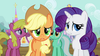 Applejack and Rarity S2E20