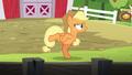 Applejack doing the chicken dance again S6E10.png
