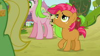 Babs blowing her mane S3E08