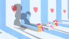 CMC forming a big shadow of a pony S4E05