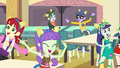 Canterlot High students dancing EG.png