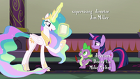 "Celestia ""if anyone knows how to run a school"" S8E1"