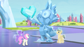 Crystal statue of Spike S4E24.png