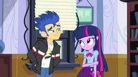 Flash asks Twilight to the dance EG