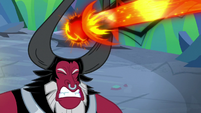 Lord Tirek fires magic at Starlight Glimmer S9E25