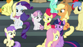 Main ponies windswept by the Wonderbolts S6E7.png