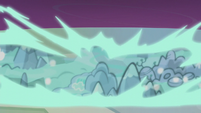 Map of Equestria magically generates S5E25