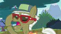 Pest pony puts on his glasses S5E04