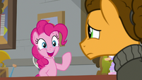 "Pinkie ""you need to make ponies smile"" S9E14"