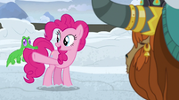 "Pinkie Pie ""Twilight and the others will"" S7E11"