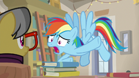 "Rainbow Dash ""he has Fluttershy!"" S9E21"