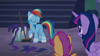 "Rainbow Dash ""this mess is my responsibility"" S6E7"