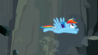 Rainbow Dash flying 7 S2E07